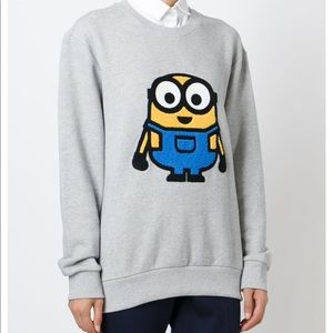 SJYP Rare Minion Patch Sweatshirt